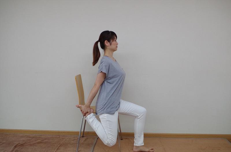 大腿四頭筋ストレッチ