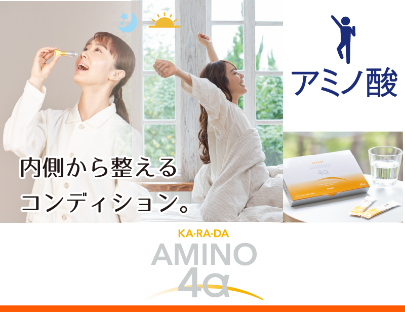 KA・RA・DA アミノ4α 90g(3g×30本)